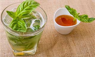 7 משקאות בריאים וטעימים שתוכלו להכין מתבלינים