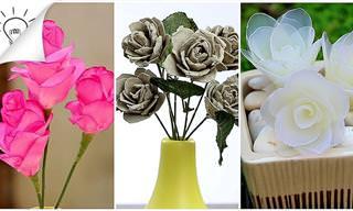איך להכין פרחים בקלות וללא מאמץ
