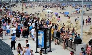 פסטיבל פסלי חול בלונג איילנד