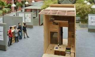 קטן ויעיל - סטודנט סיני בונה לעצמו בית מעץ