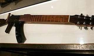 הגיטרות ההזויות ביותר שיצא לכם לראות!!