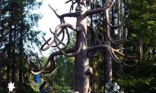גן הפסלים המסתורי בפינלנד