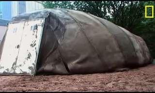 יריעות קנבס הבטון הגמיש - המצאה גאונית!