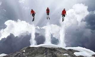 תמונות מדהימות מצילומים על הרי האלפים