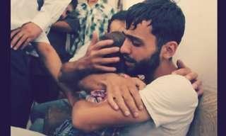 רגעים מרגשים בלב הכאוס בסוריה