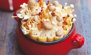 מתכון לפסטה עם פטריות בעיצוב מקסים שפשוט חבל לאכול!