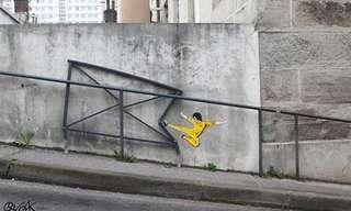 ציורי קיר באמנות רחוב מדהימה!
