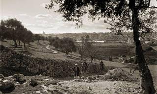 24 תמונות מרתקות של ירושלים בתקופת המנדט הבריטי
