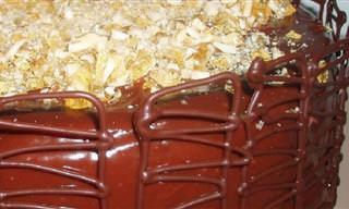 מתכון מפתיע ופשוט לעוגת שוקולד עם טובלרון