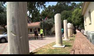 תצוגות ארכאולוגיות ברחבי הארץ