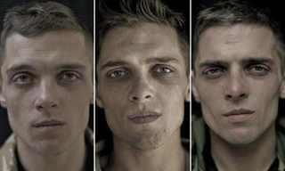 תמונות של חיילים לפני בזמן ואחרי מלחמה