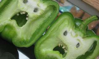 תמונות של ירקות עם פרצוף