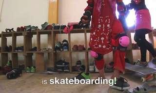 פרויקט הסקייטבורד של בנות אפגניסטן