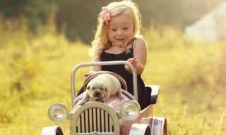 תמונות מקסימות של ילדים ובעלי חיים!