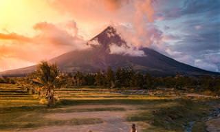 15 תמונות נוף עוצרות נשימה ממרחבי אסיה מנקודת מבטה של ציפור