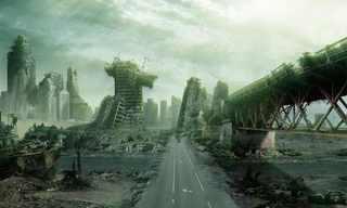 תמונות מדהימות של סוף העולם