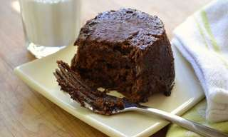 סופלה שוקולד וחמאת בוטנים בדקה