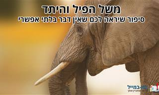 משל הפיל והיתד: סיפור שיראה לכם שאין דבר בלתי אפשרי
