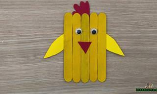 5 דברים חמודים שתוכלו להכין עם הילדים ממקלות עץ