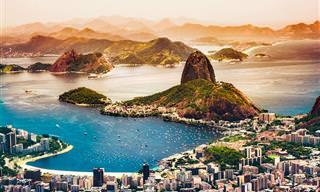מפה אינטראקטיבית עם 15 סיורים מצולמים בברזיל