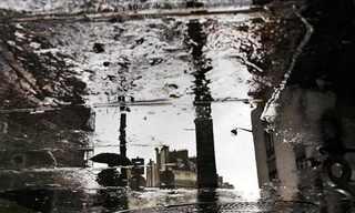 עיר בגשם - תמונות מדהימות!
