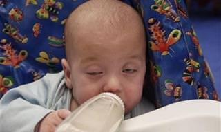 סרטון מתוק על תינוקות שנלחמים בשינה