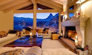 עם כזה נוף, מי רוצה לצאת מהבית?