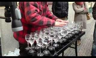 הללויה - גירסת כוסות הקריסטל