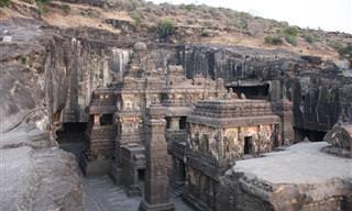 תמונות מדהימות ממערות אלורה שבהודו