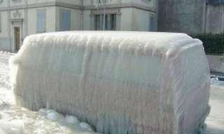 סופות קרח ברחבי העולם