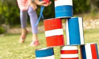 משחקי חצר וגינה לילדים שאפשר להכין בקלות