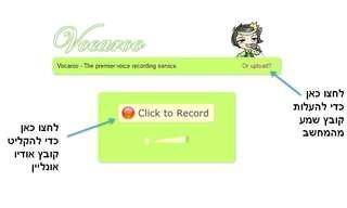 האתר שמאפשר לכם להקליט את עצמכם אונליין!
