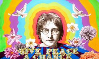 16 ציטוטים מעוררי השראה ומחשבה של ג'ון לנון