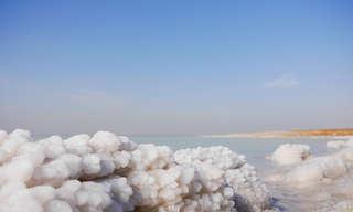 תופעת הטבע המדהימה שהתגלתה בים המלח
