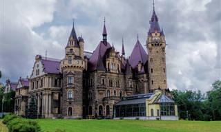 הכירו את טירת מושנה – אחד המבנים היפים ביותר באירופה