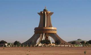 9 מבנים מרשימים שמציגים את האדריכלות האפריקאית
