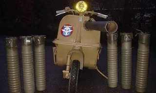 הצבא נוסע על 2 - קטנועים צבאיים מיוחדים