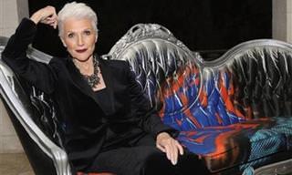 7 סודות הטיפוח של מיי מאסק - דוגמנית יפהפייה בת 70