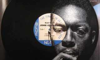 דיוקנאות אמנים על תקליטים ישנים