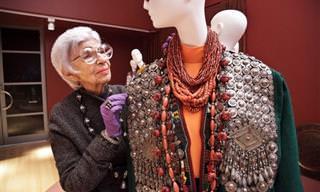אייריס אפפל - הבוררת הגדולה של עולם האופנה