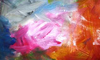 אמנות מודרנית מול ציורי ילדים