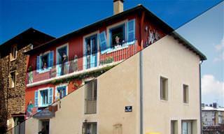 מבנים בצרפת שעברו שינוי מדהים ויצירתי