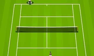 טניס וירטואלי