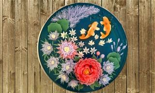 עוגות ג'לי תלת-ממדיות של האומנית סו האנג בון