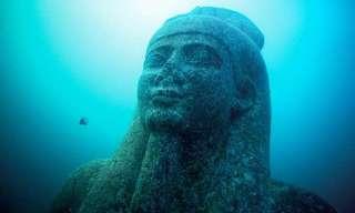 """""""אטלנטיס המצרית"""" התגלתה אחרי 1,200 שנה"""