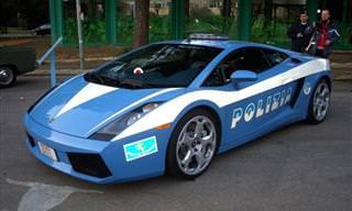 10 ניידות המשטרה המהירות והיקרות ביותר בעולם
