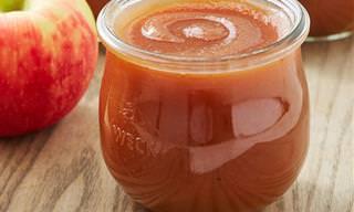מתכון לממרח תפוחי עץ עשיר במרקם חמאתי