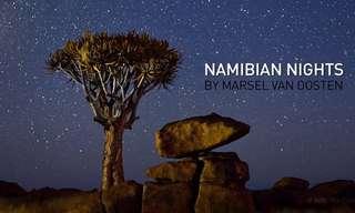 לילות נמיביה - צילום טיים לאפס מרהיב!