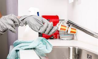 14 מקומות שקשה לנקות והאופן בו תוכלו לעשות זאת בקלות