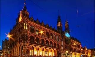 מסע מצולם ברחבי אמסטרדם